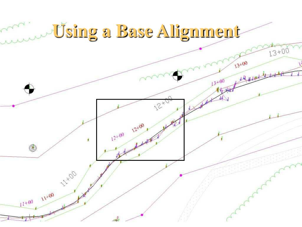Using a Base Alignment