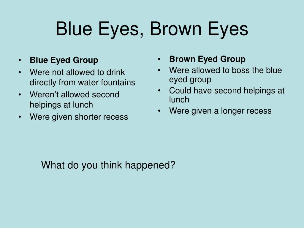 Blue Eyed Group