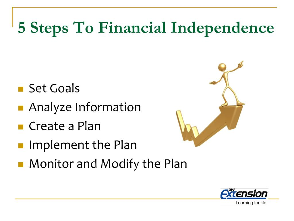 5 Steps To Financial Independence