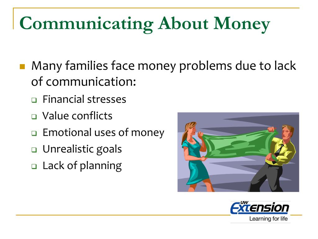 Communicating About Money