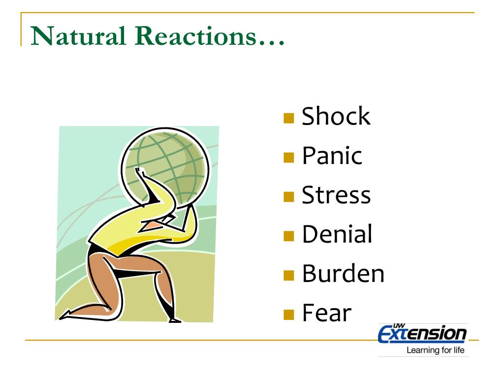 Natural Reactions…