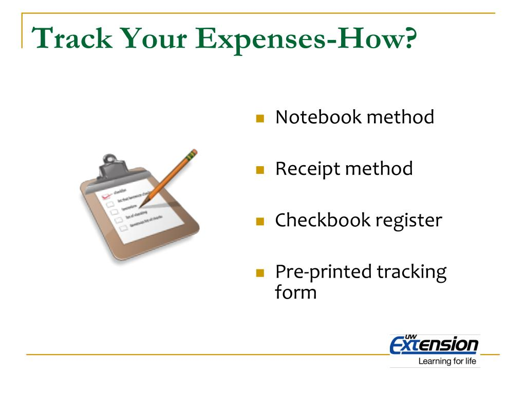 Track Your Expenses-How?