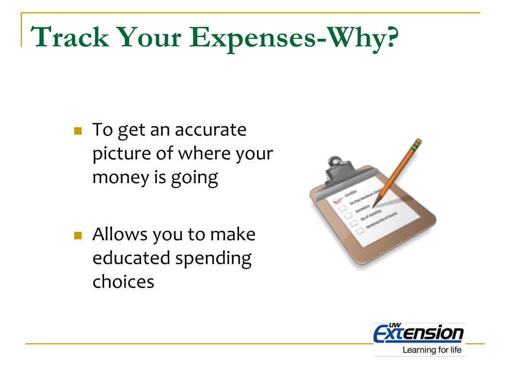 Track Your Expenses-Why?