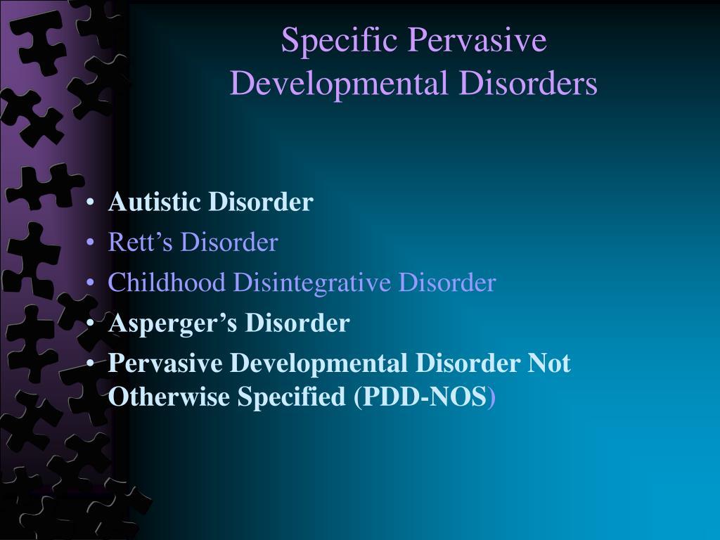 Specific Pervasive