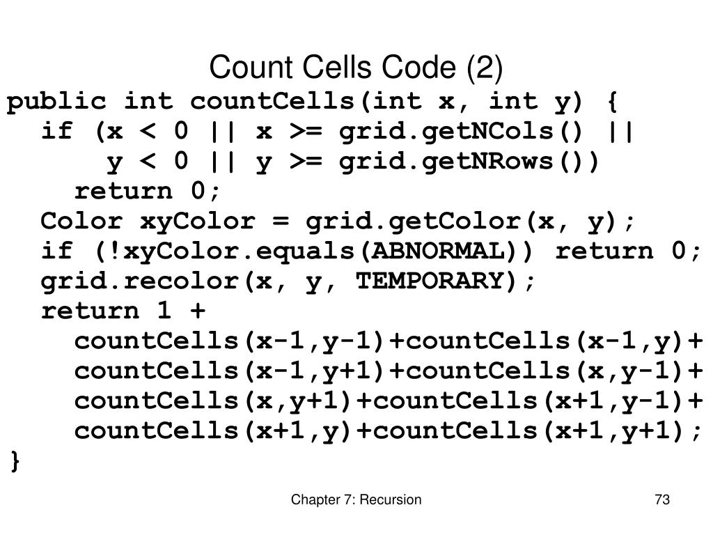 Count Cells Code (2)