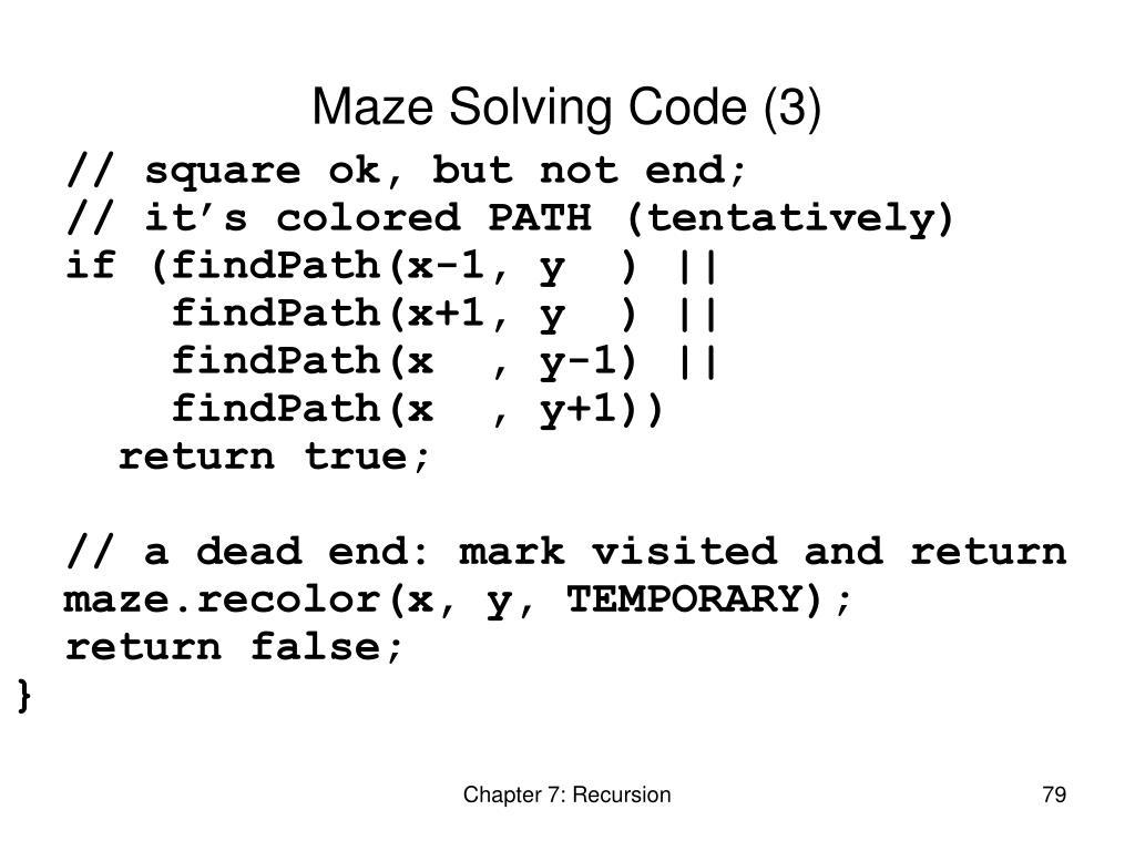 Maze Solving Code (3)