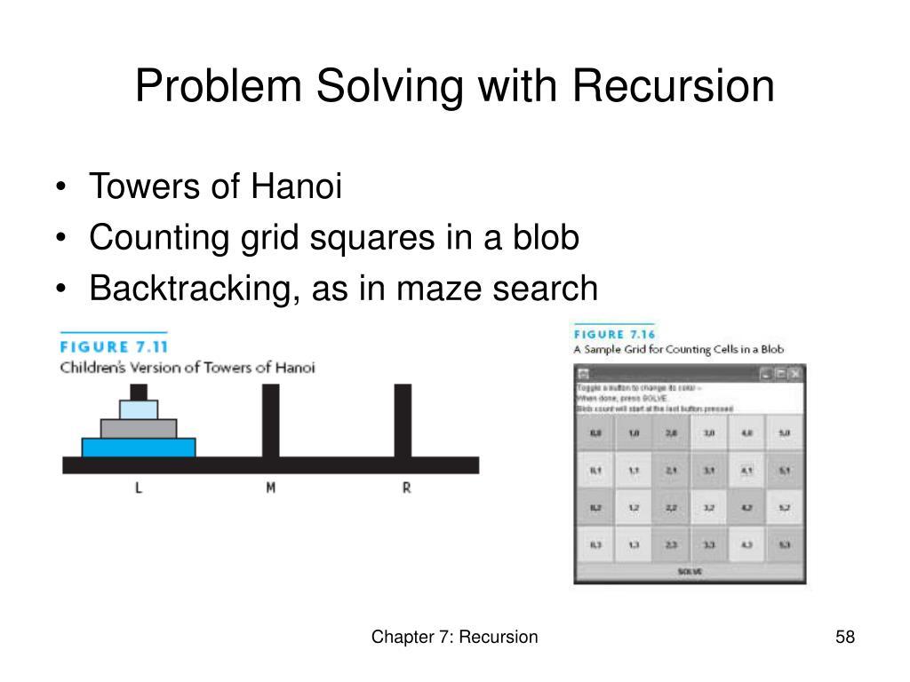 Problem Solving with Recursion