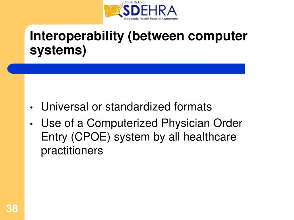 Interoperability (between computer systems)