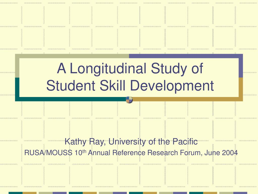 A Longitudinal Study of