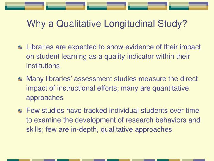 Why a qualitative longitudinal study