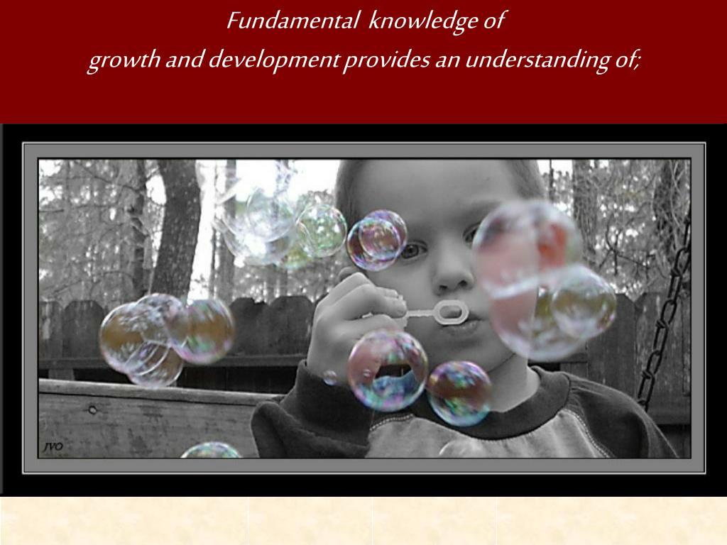 Fundamental  knowledge of