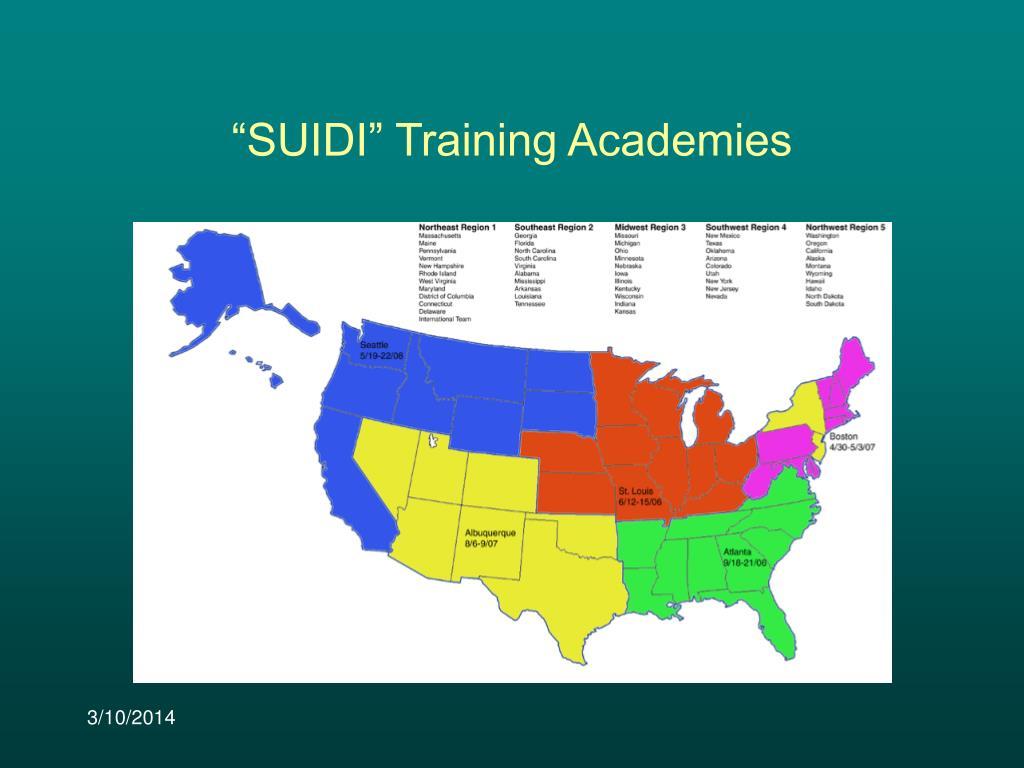 """""""SUIDI"""" Training Academies"""