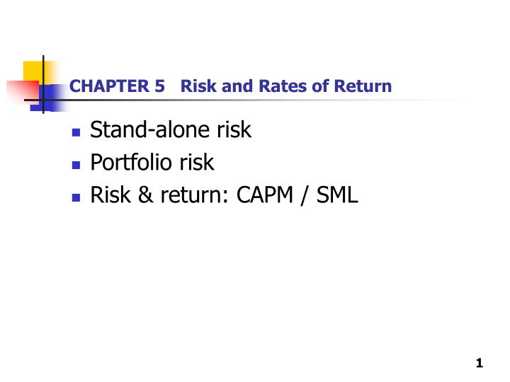 Chapter 5 risk and rates of return l.jpg