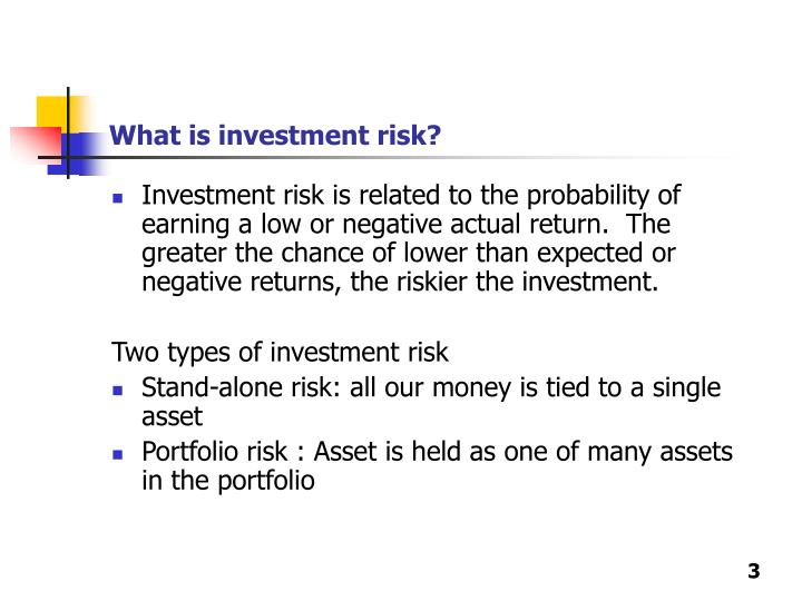 What is investment risk l.jpg