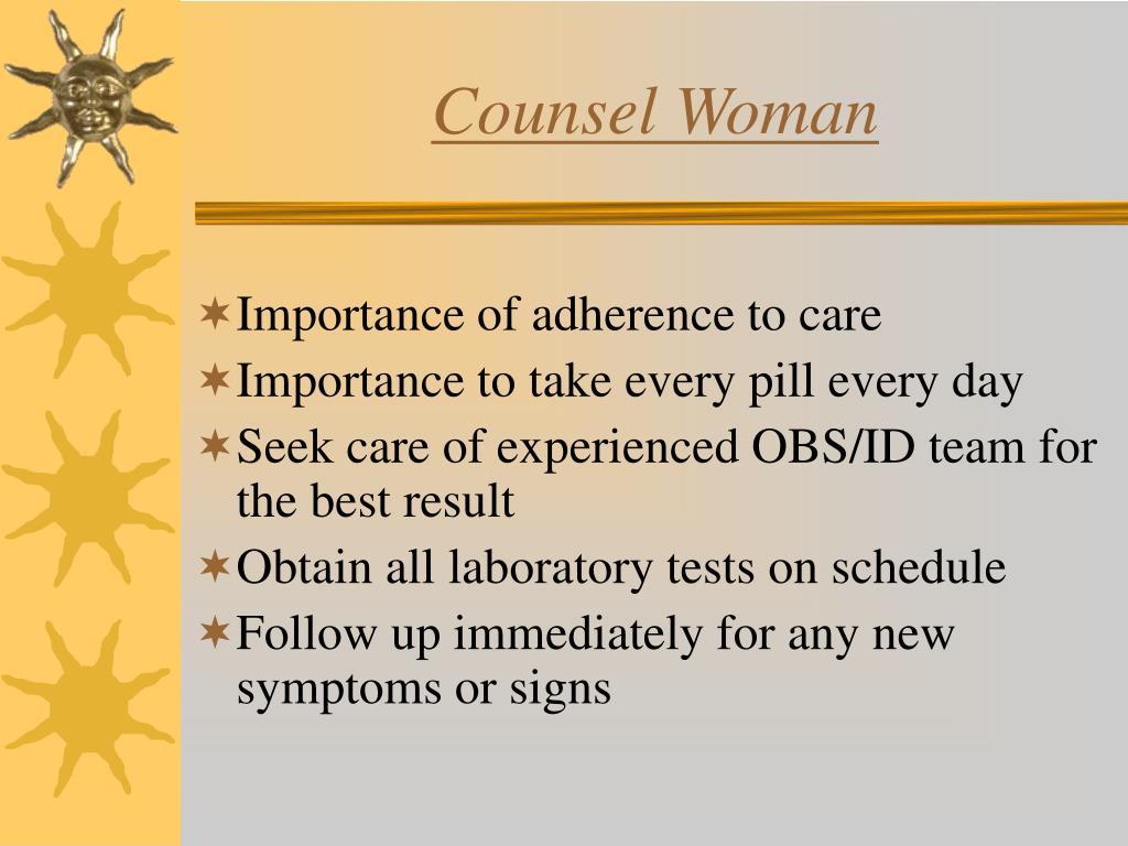 Counsel Woman