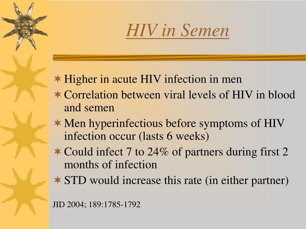 HIV in Semen