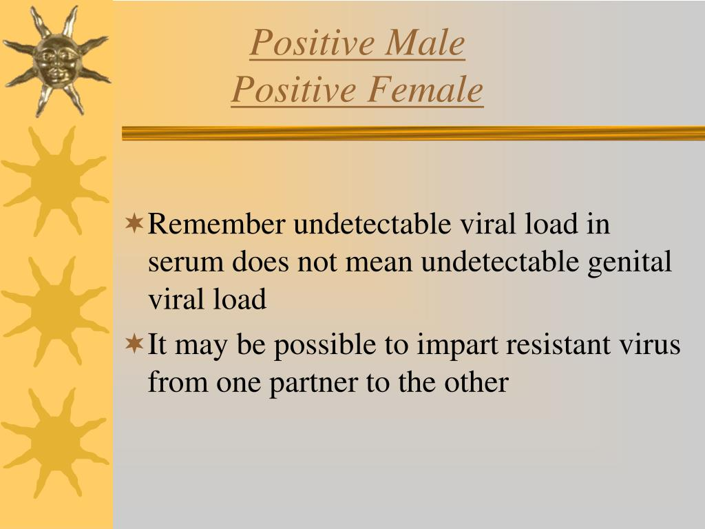 Positive Male