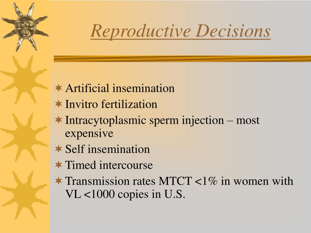 Reproductive Decisions