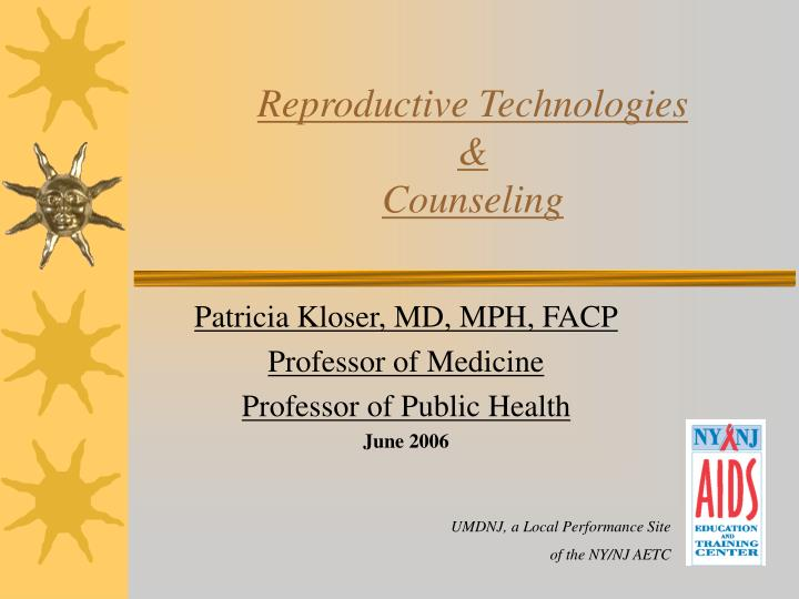 Reproductive technologies counseling l.jpg