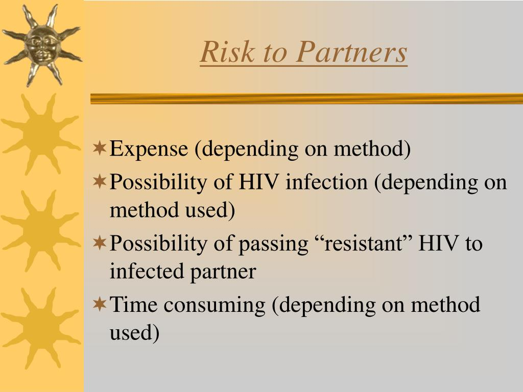 Risk to Partners