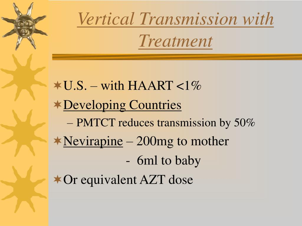 Vertical Transmission with Treatment