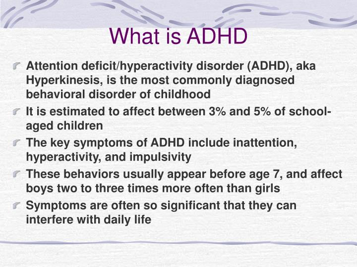 effects of adhd on children The effects of ritalin on the body systems ritalin is a nervous system stimulant that is commonly used to treat attention deficit hyperactivity disorder (adhd) in adults and children.