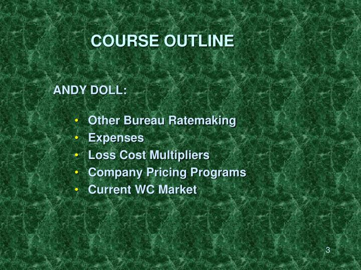 Course outline3