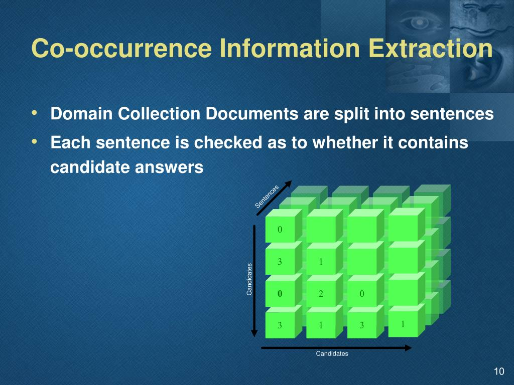 Co-occurrence Information Extraction