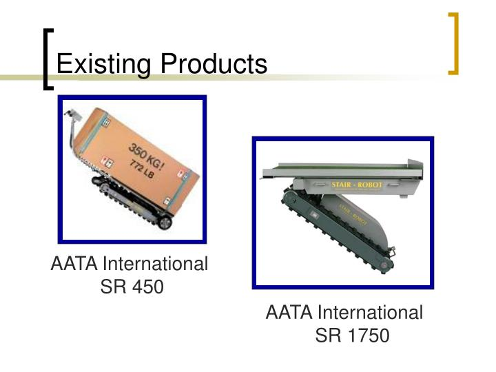 Existing products l.jpg