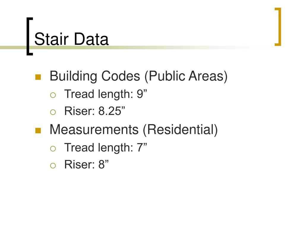 Stair Data
