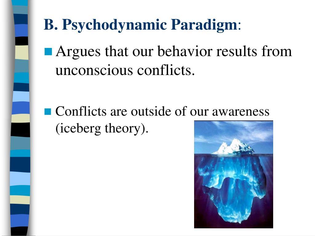 B. Psychodynamic Paradigm
