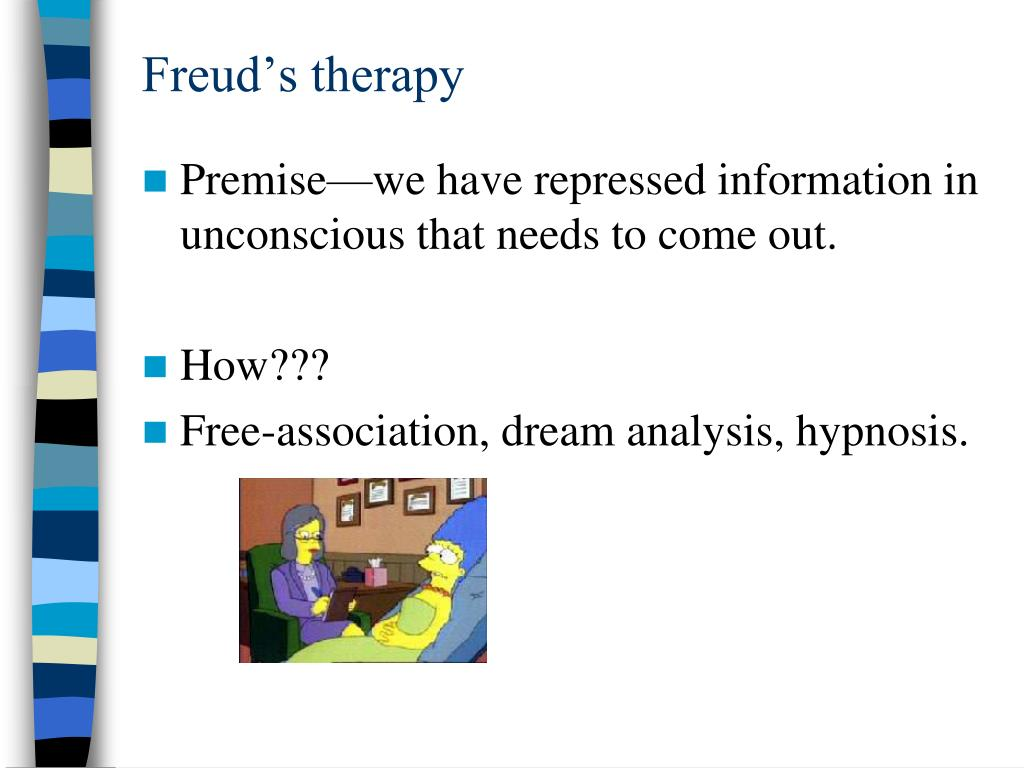 Freud's therapy