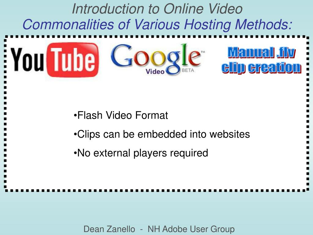 Introduction to Online Video
