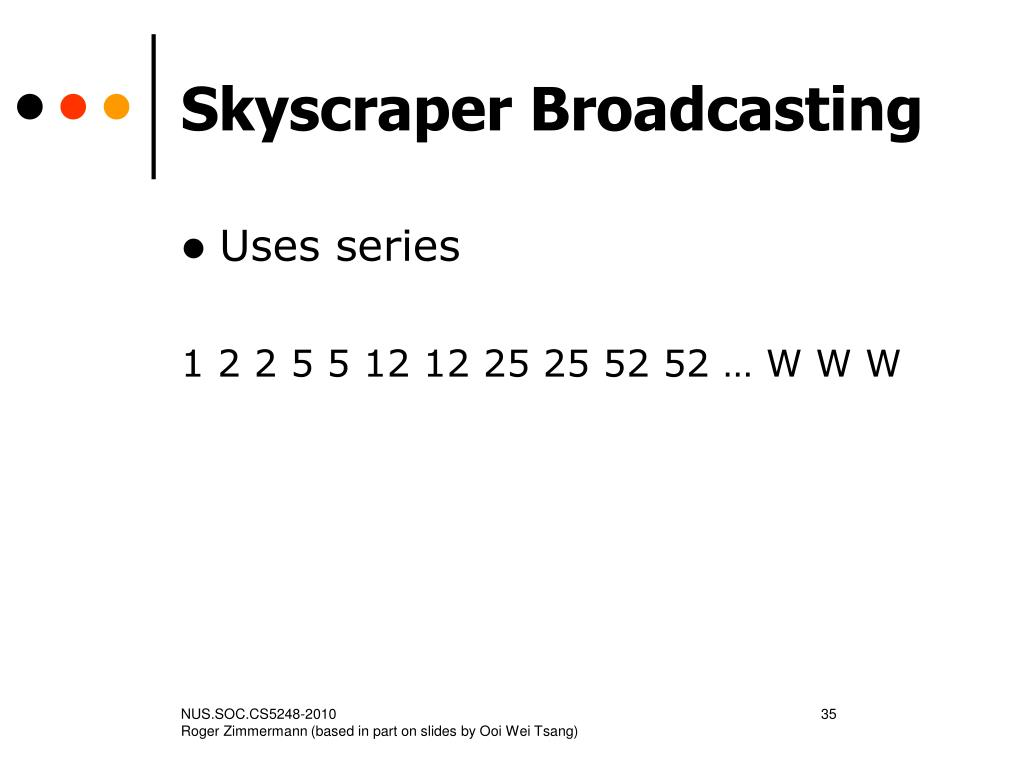 Skyscraper Broadcasting