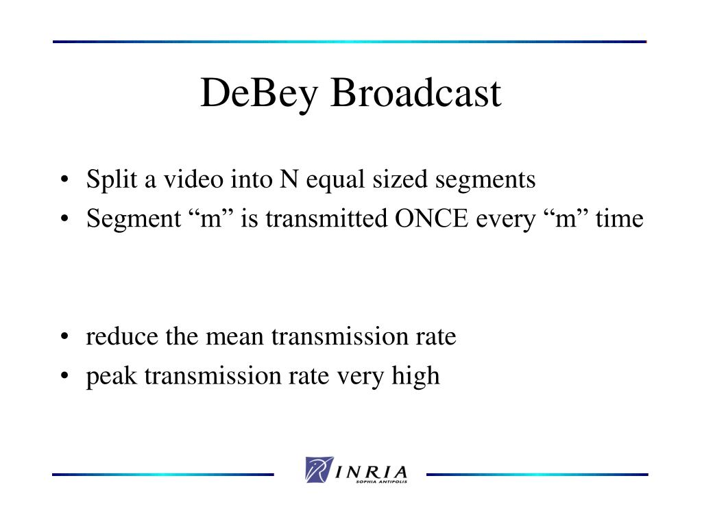 DeBey Broadcast