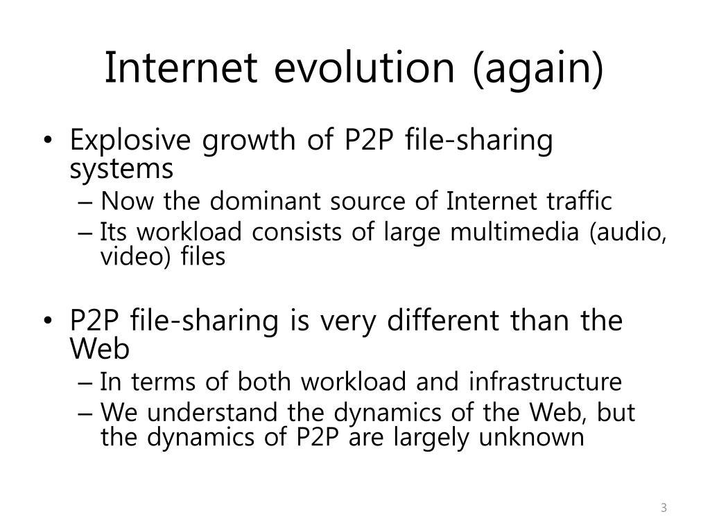Internet evolution (again)