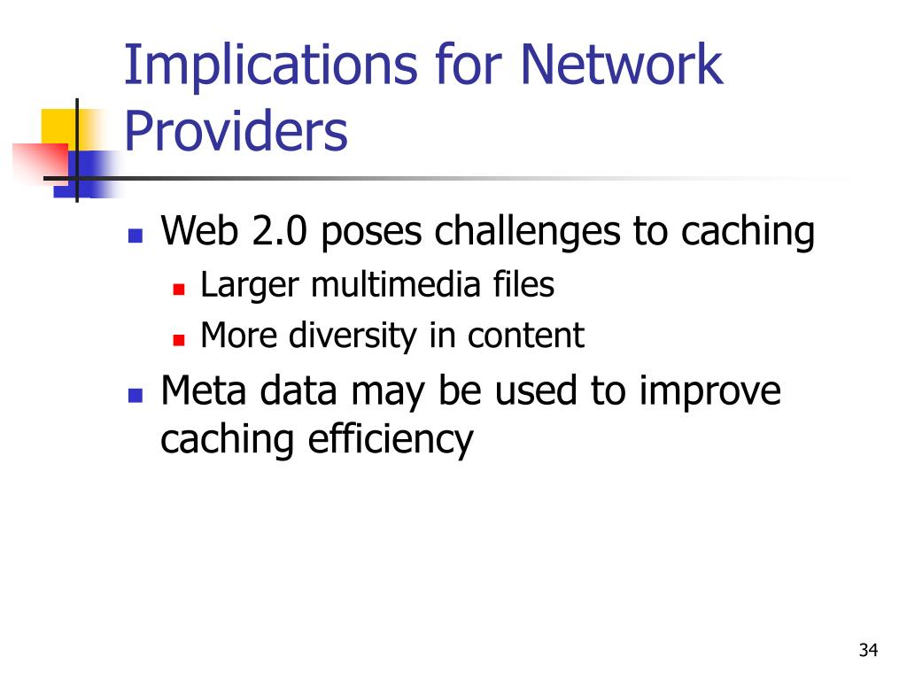 Implications for Network Providers