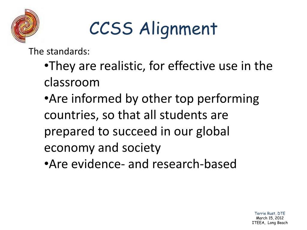 CCSS Alignment