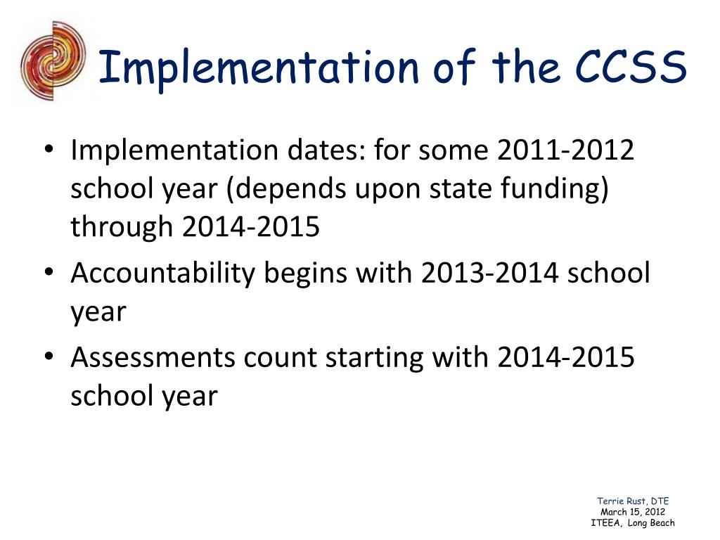 Implementation of the CCSS