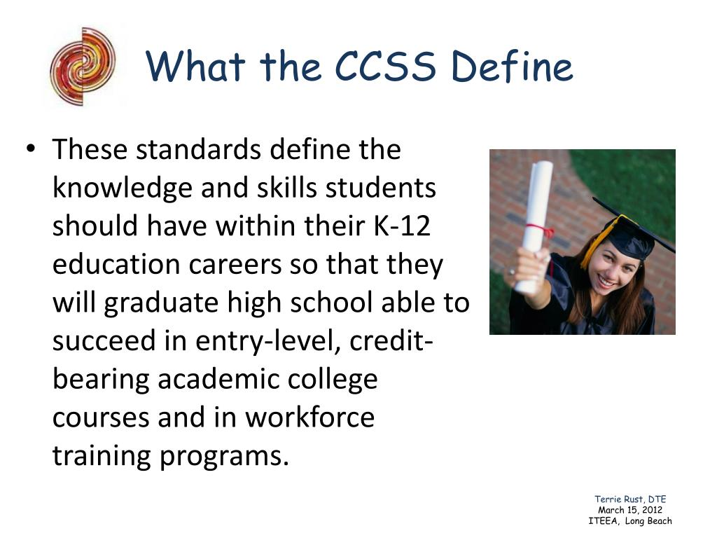 What the CCSS Define