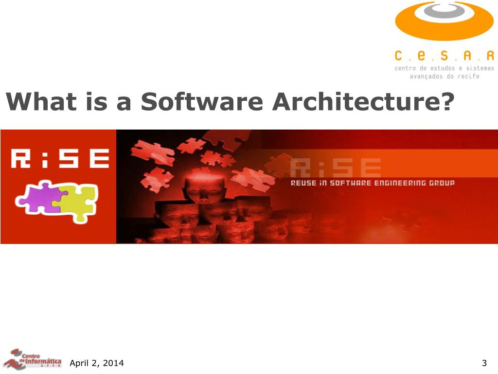 What is a Software Architecture?