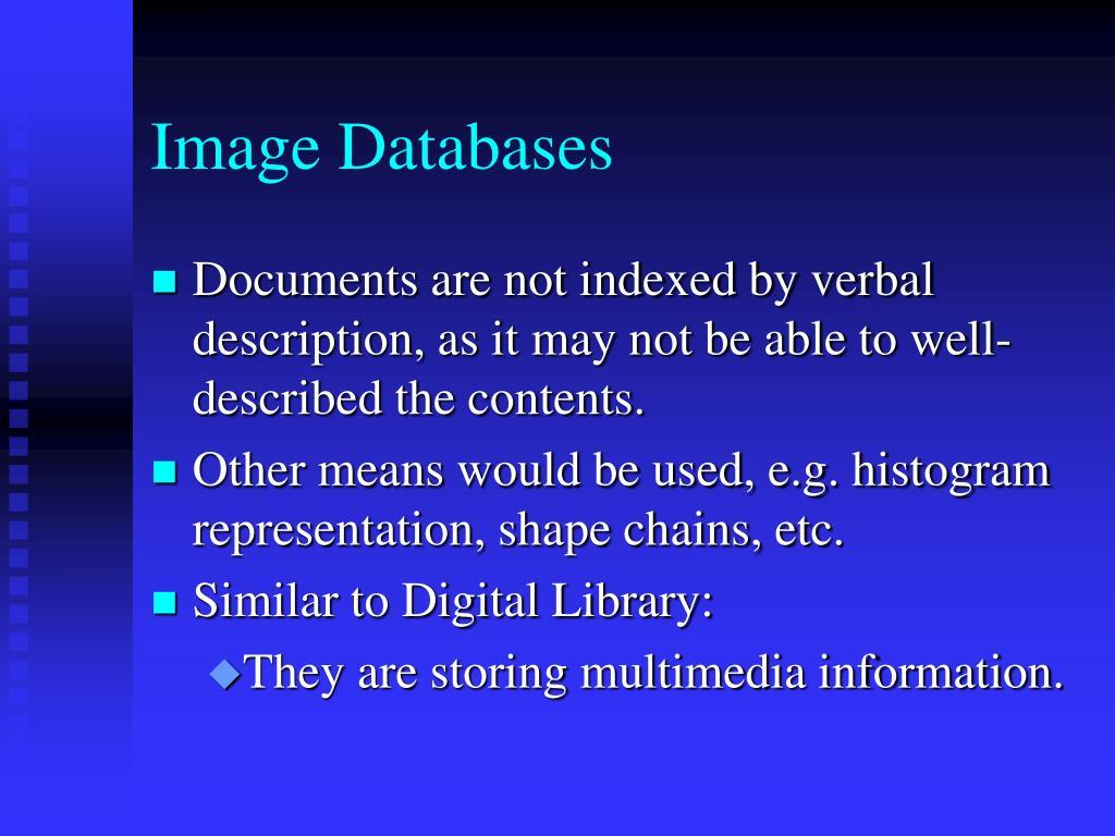 Image Databases