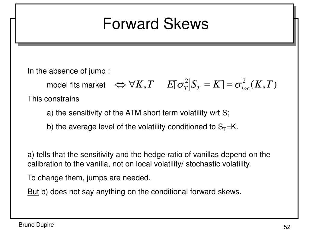 Forward Skews