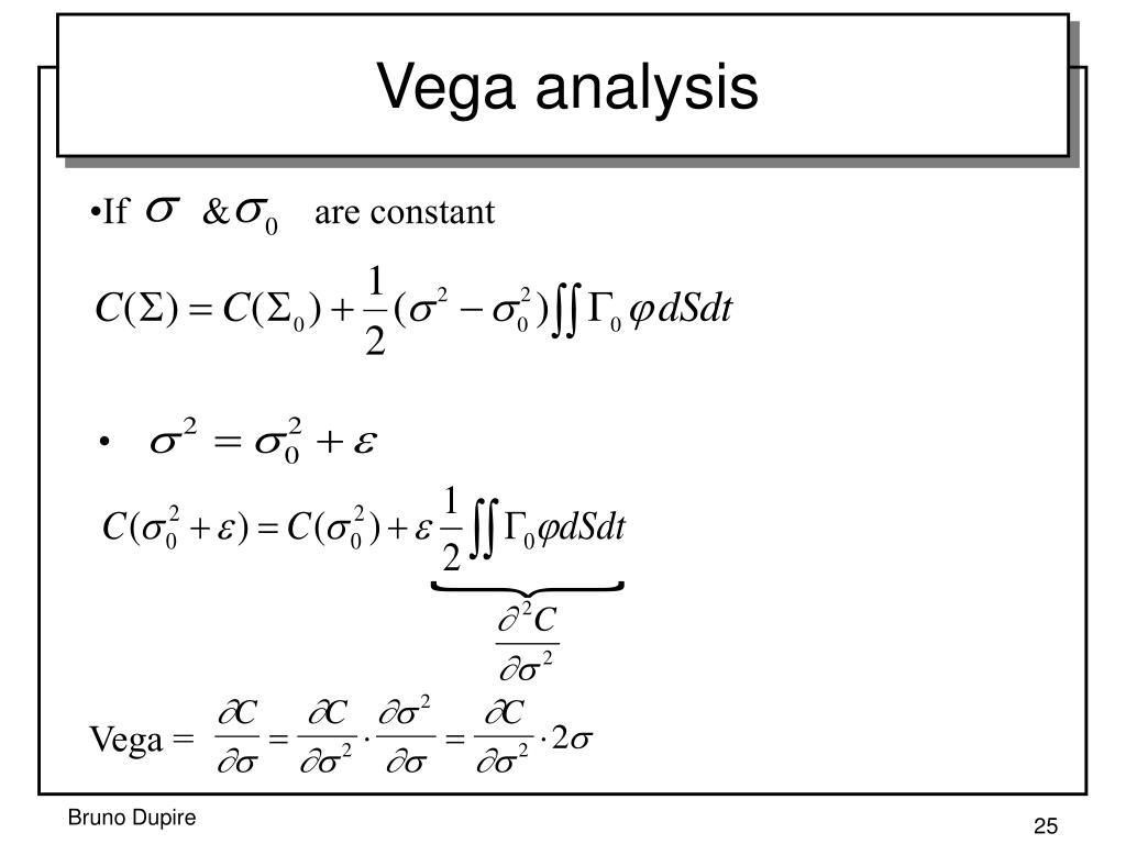 Vega analysis