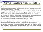 norma regulamentadora nr 1751