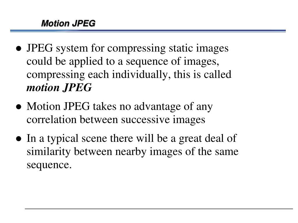 Motion JPEG