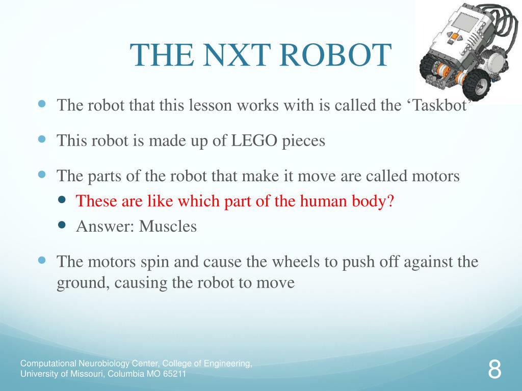 THE NXT ROBOT