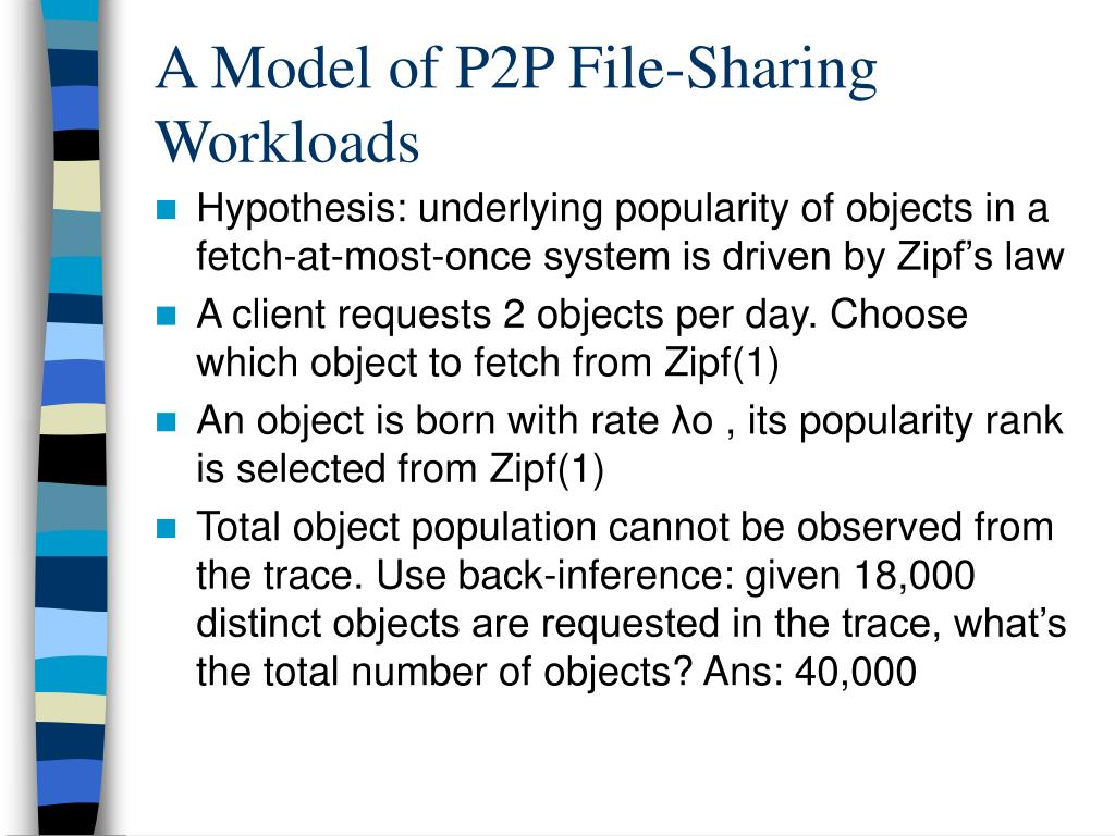 A Model of P2P File-Sharing Workloads