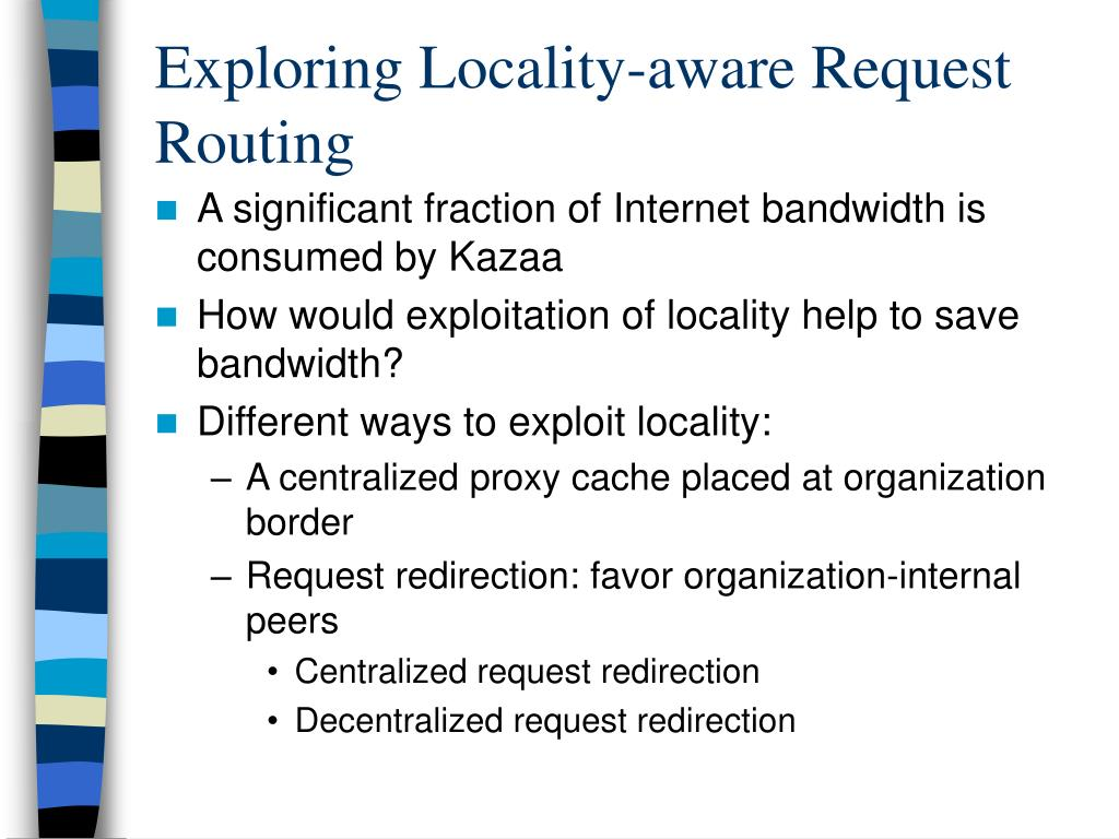 Exploring Locality-aware Request Routing