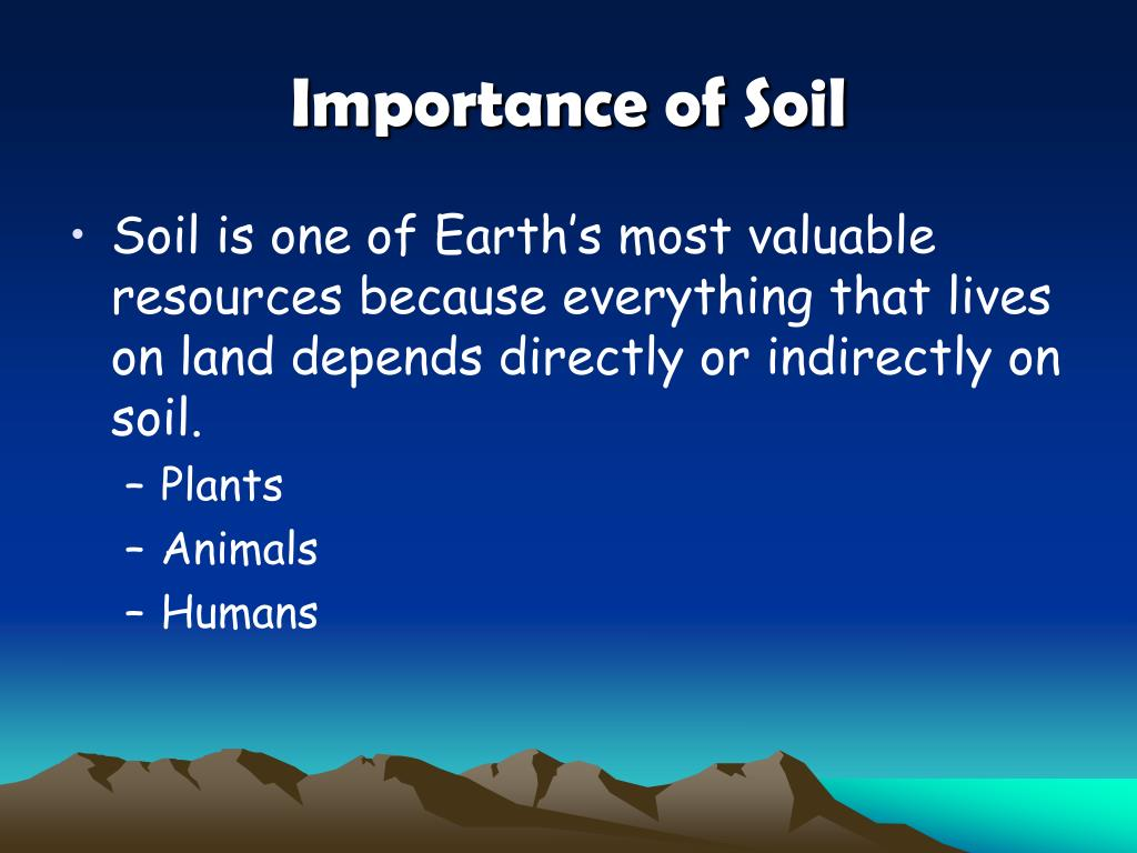 Ppt unit 3 rocks soil minerals powerpoint for Importance of soil minerals